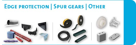 Edge protectors / spur wheels / sealings / other