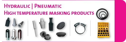 Hydraulic / pneumatic / high-temp. masking products