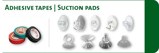 Adhesive tapes / suction pads